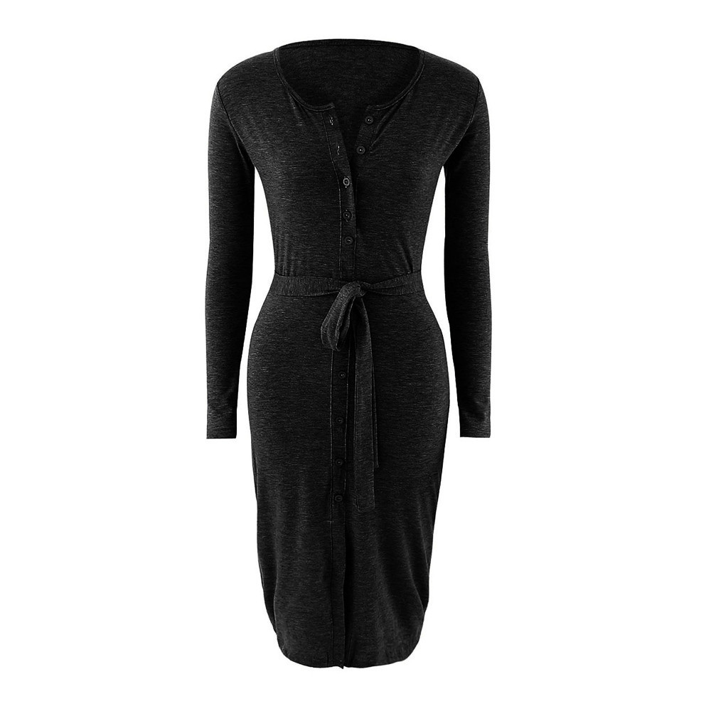 57237aab80 Sexy Bodycon Dress 2017 Spring Pencil Dress Women s Long Sleeve ...