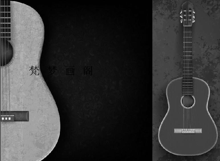 Online kopen Wholesale gitaar behang uit China gitaar