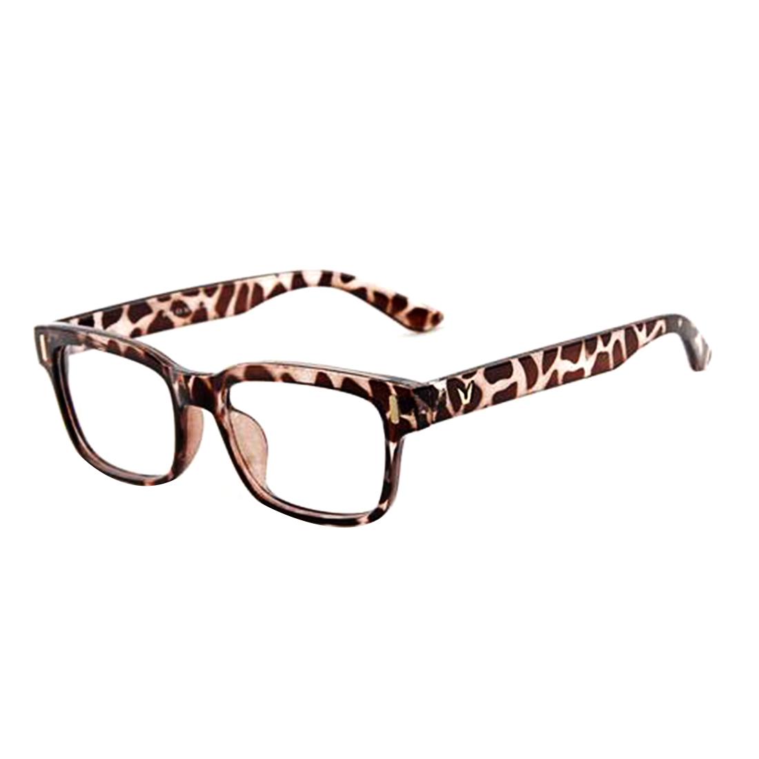 8559a9364c41c Novo 2016 Moda V-Em Forma de Caixa de Olho Óculos De Marca Quadros ...
