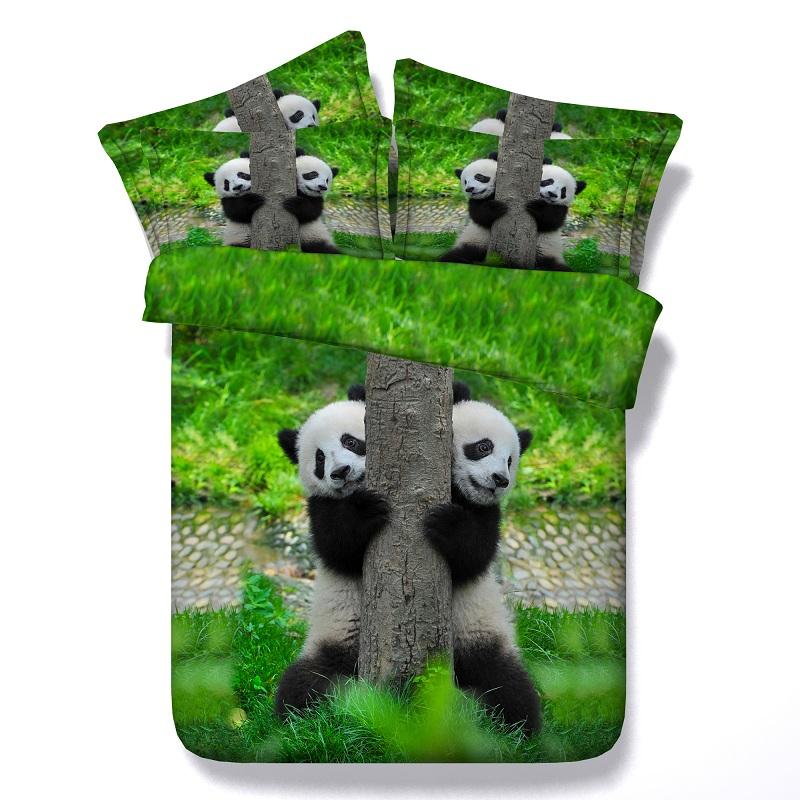 Popular Panda Comforter Set Twin