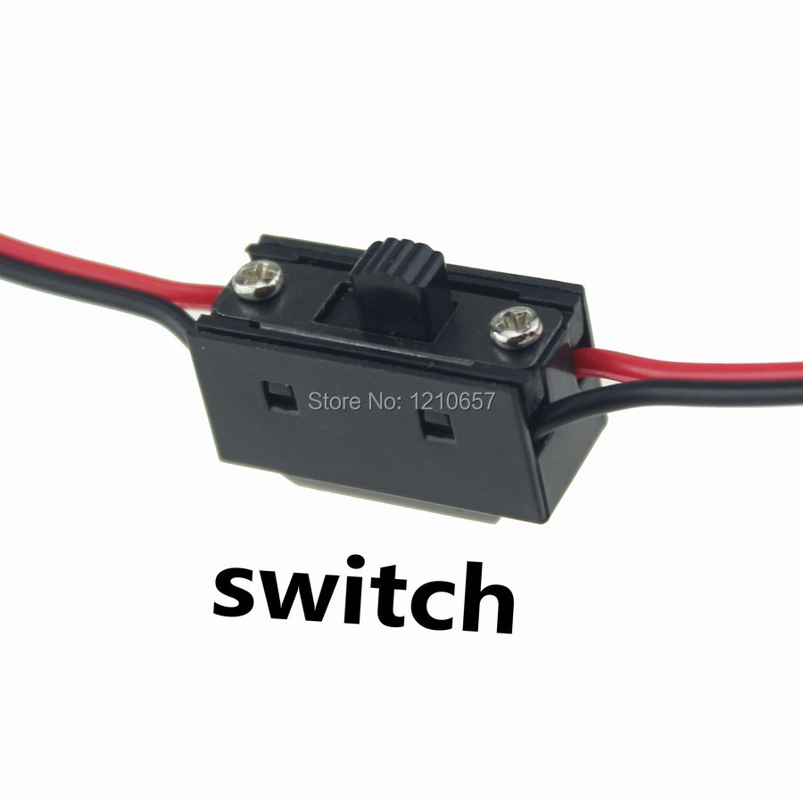 ᗐ1PCS 3 Way Power On Off Switch RC Receiver with JR Futaba Wire ...