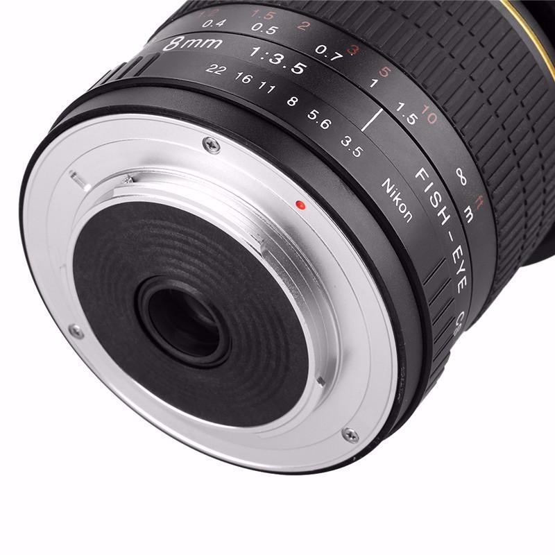 っ8mm f/3.5 lente gran angular para aps-c/full Marcos Nikon d800 ...