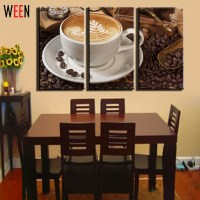 3 Panel Modern Painting Canvas Home Decoration Coffee Wall ...