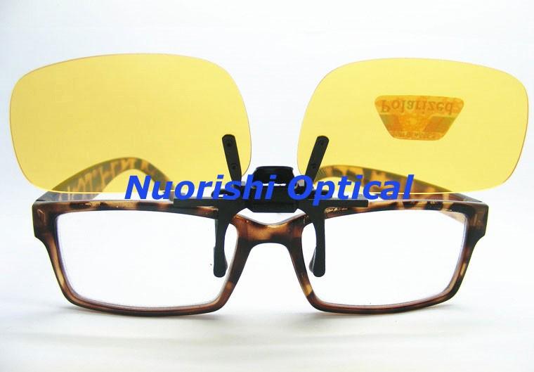 G15 marrom preto óculos óculos polarizados TAC UV400 clipe lente de óculos  de sol de plástico CP01H 2044c66bd2