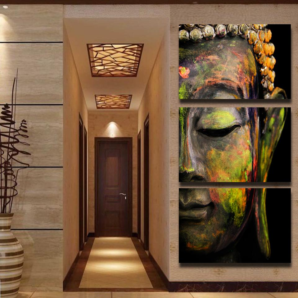 Buddha Oil Painting Wall Art Paintings Picture Paiting Canvas Paints Home Decor HD Print