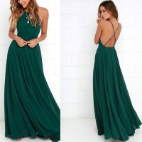 Long green dresses pinterest