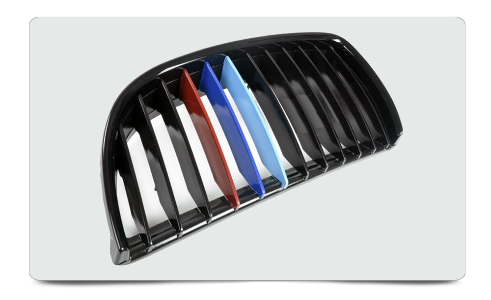 Set Kit pare-chocs avant meulé Support en Acier Pour BMW 3er e90 e91 Année de construction 05-08
