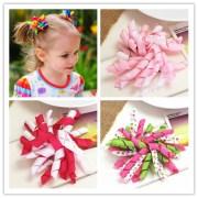 diy flower korker hair ribbon bow