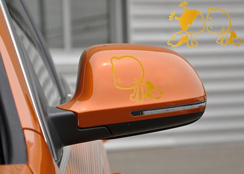 NO LOGO KF-Printemps Auto Intelligent Voiture r/étroviseur Automatique Syst/ème Pliant Automatique Miroir c/ôt/é Voiture Modules Pliant Kit Accessoires Voiture
