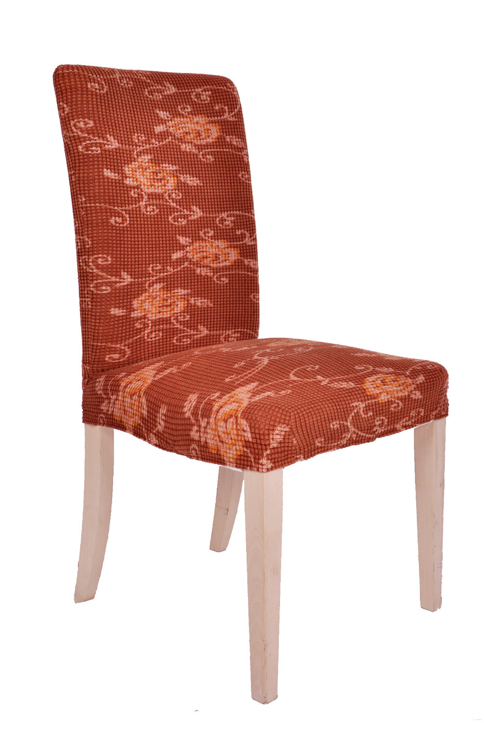Dining Room Jacquard Poyester Spandex Fabric Printed Chair