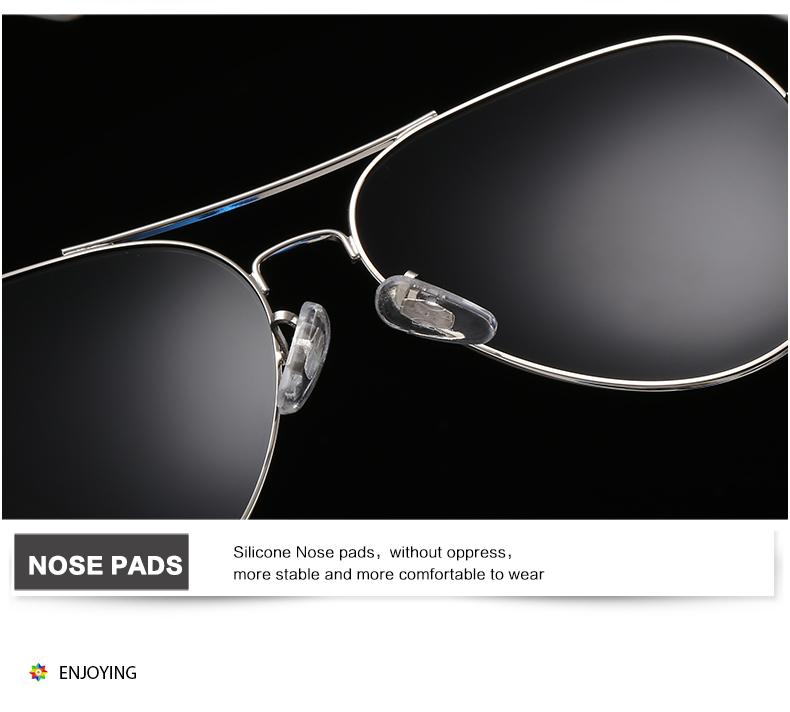 99767a2de8fd8 LA VIE Frame Da Liga de Óculos Polarizados Óculos de Sol Revestimento de  Espelho óculos de Sol Óculos de Sol Piloto aviador design design clássico  LV3025