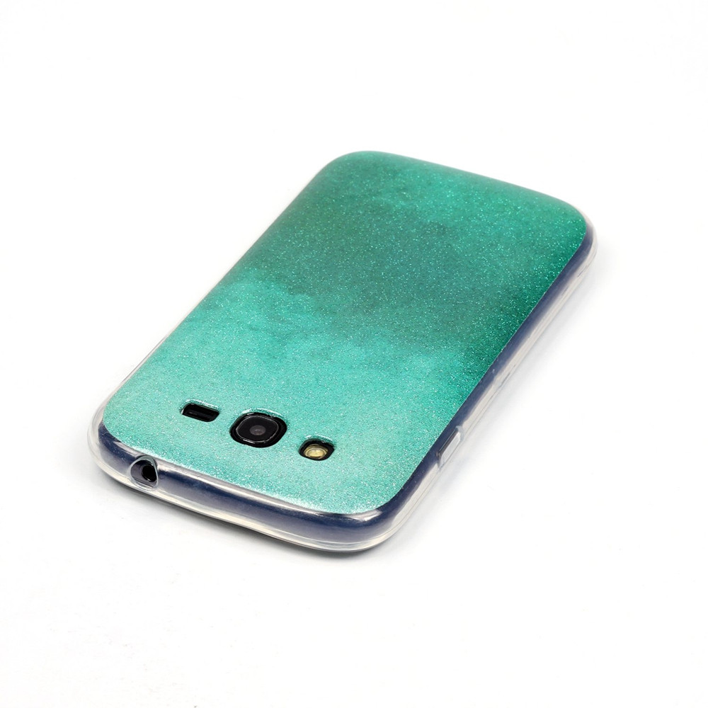 Colorful Bling Glitter Powder Paillette Soft Back Case Covers Lcd Samsung Galaxy Grand Neo Plus Oem For I9060 9060 Duos I9082 9082