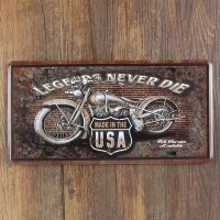 2018 Wholesale Metal Painting Route 66 Motorcycle Metal ...