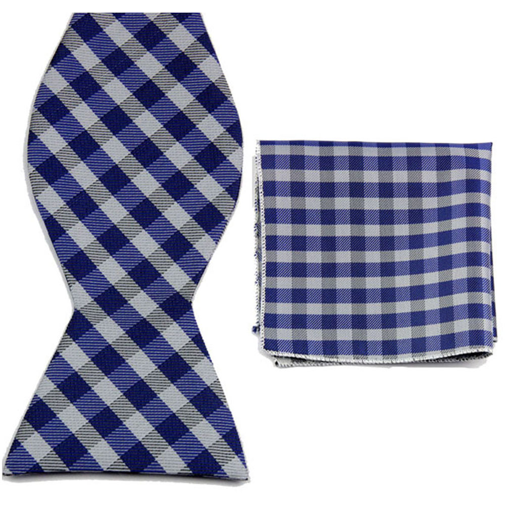 BT00039 Men Bow Tie Plaid Bowties Knit Bowties For Male