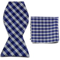 BT00039 Men Bow Tie Plaid Bowties Knit Bowties For Male ...