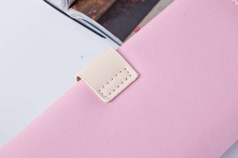 Femmes Porte-monnaie Xxl peau de vache 20 Compartiments Porte-monnaie Portefeuille Sac//533