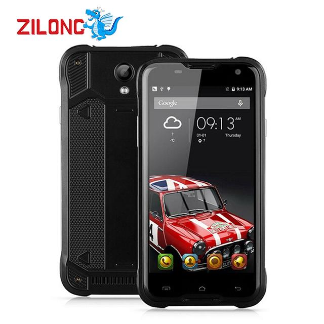 "Оригинал Blackview BV5000 4 Г LTE Водонепроницаемый Смартфон 5.0 ""HD MTK6735 Quad Core Android 5.1 Сотовый Телефон 2 ГБ RAM 16 ГБ ROM 4780 мАч"