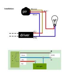 rondaful motion led wiring diagram wiring diagrams u2022 12v led wiring diagram 120v led wiring diagram [ 1000 x 1000 Pixel ]