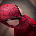 Hot Sale Halloween Superhero Spiderman 2 blue red Zentai Suits Aveners Women Men Kids Spiderman Costume