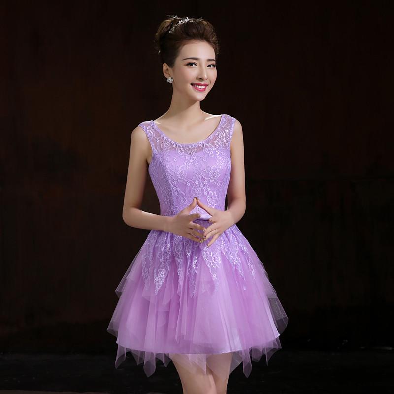 ⊹Corto vestido de fiesta ocasión especial Vestidos 2015 nueva lindo ...