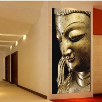 Modern Buddha Oil Painting On Canvas | www.imgkid.com ...
