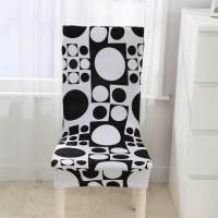 Popular Black and White Chair Cover-Buy Cheap Black and ...