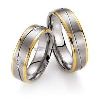 high end cheap custom tailor titanium engagement wedding ...