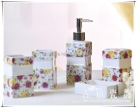 Yellow Bathroom Accessories Sets Promotion-Shop for ...