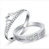The gallery for --> Crown Couple Rings