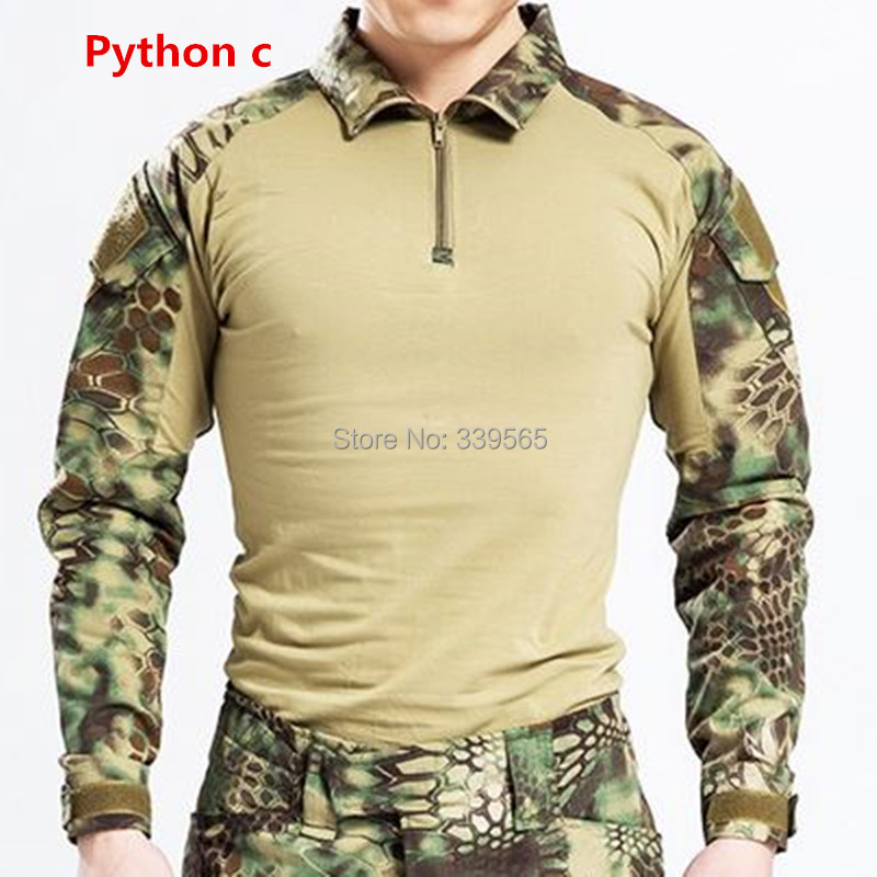 Hunting Usmc Frog II tactical military camouflage combat trousers ...