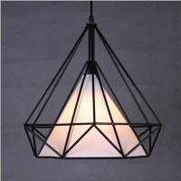 Modern Novelty Innovative Pendant Lamp Wrought Iron Cage ...