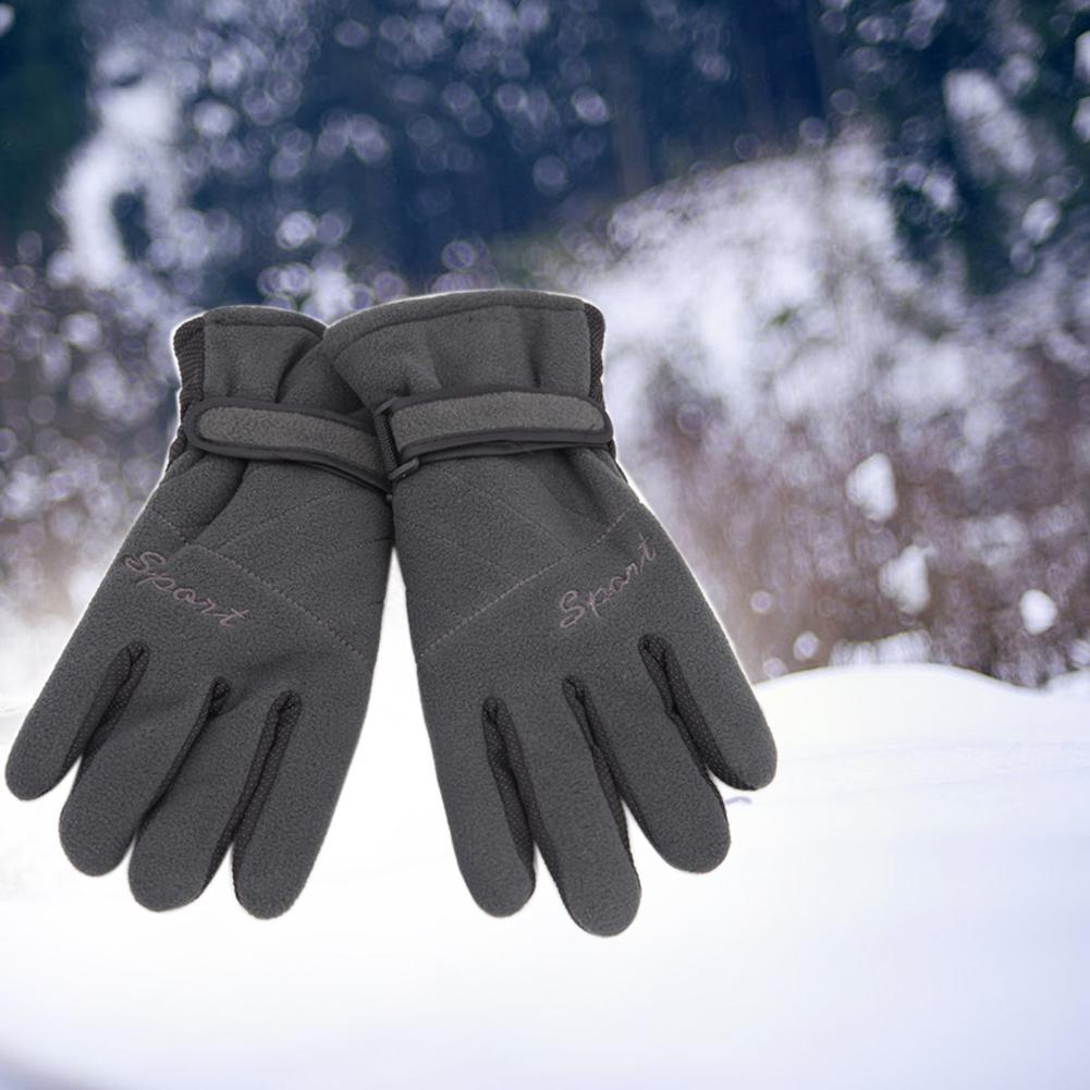 இMen\'s Winter Warm Gloves Motorcycle Bike Cycling Gloves Ski Snow ...