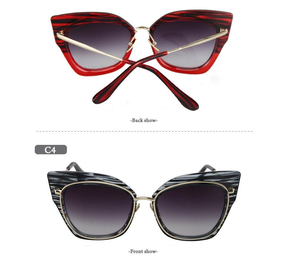 61730e908cf5 ... 2017 года Солнцезащитные очки для женщин большой площади негабаритных  Защита от солнца Очки Винтаж Для женщин Очки прозрачный глаз Очки известный  бренд ...