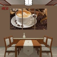 Aliexpress.com : Buy 3 Panel Coffee Wall Art Picture ...