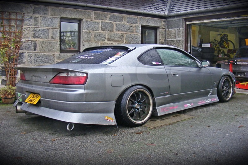 ... 1999 2002 Nissan S15 Silvia Dmax Style Rear Spoiler FRP (14) ...