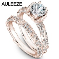 Popular Moissanite Wedding Sets