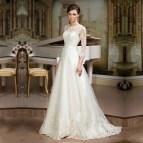 Simple Elegant Lace Wedding Dresses
