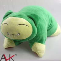 40cm*33cm cartoon plush Snorlax Fold Pillow Cushions Plush