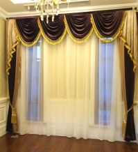 Aliexpress.com : Buy Set!3 styles luxurious curtains for ...