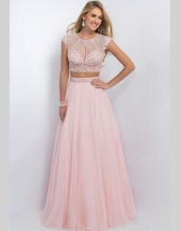 Aliexpress.com : Buy 2 Two Pieces Blush Prom Dresses For ...