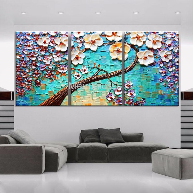 ⃝Pintado a mano moderna casa decoración pared arte cuadro fondo ...