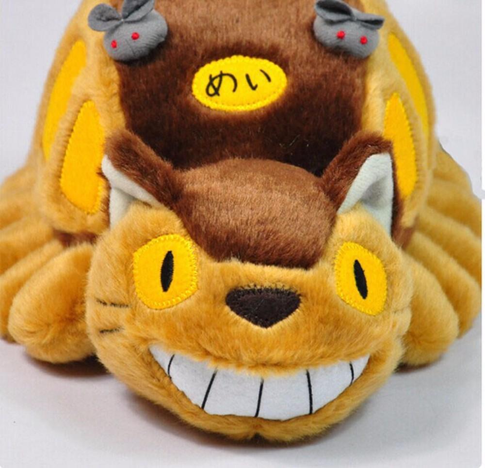 Мультфильм Хаяо Миядзаки автобус Тоторо Куклы Мягкие игрушки Тоторо трамвай плюшевые игрушки милый ребенок игрушки для подарков