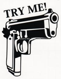Gun Stickers Decals Promotion-Shop for Promotional Gun ...