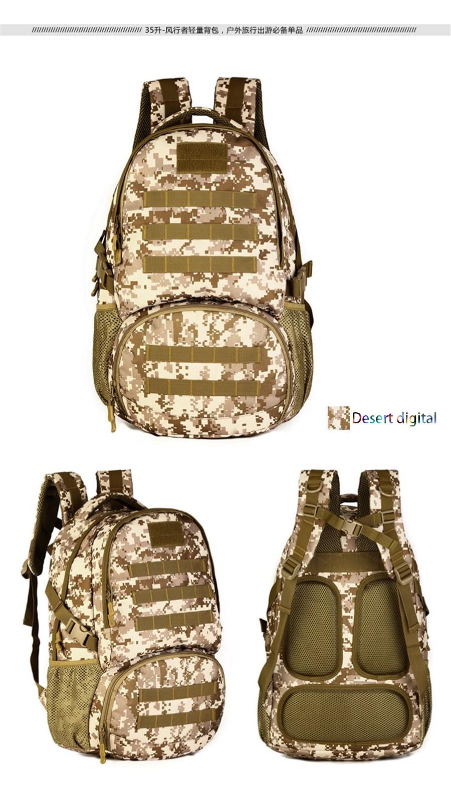 fb22093e429 ᐂSaco dos homens Mochila Militar Moda Feminina Pacote de Combinação ...