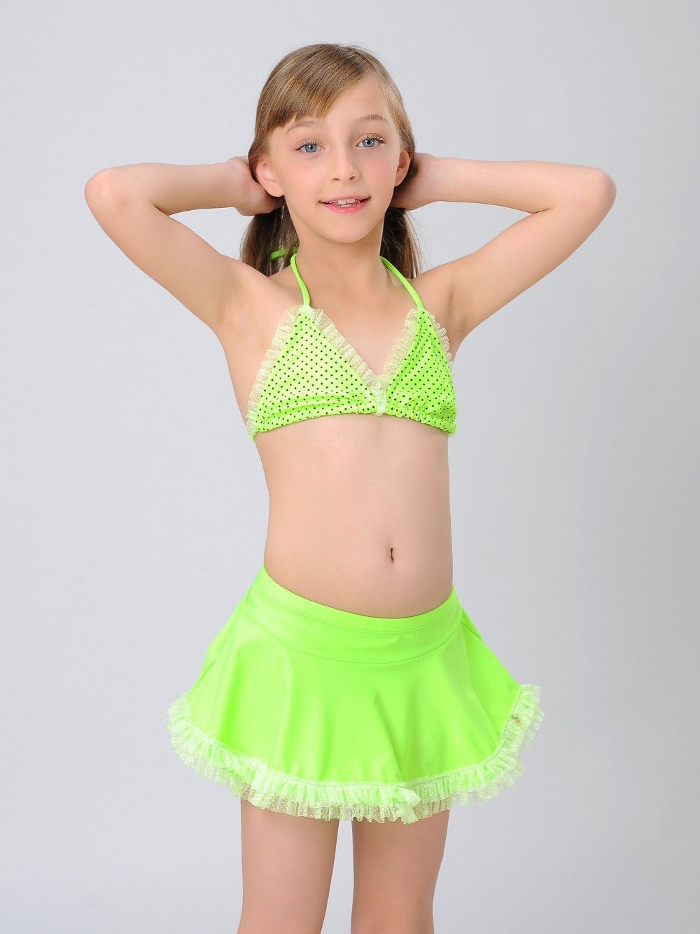 Lace Bathing Suit Top