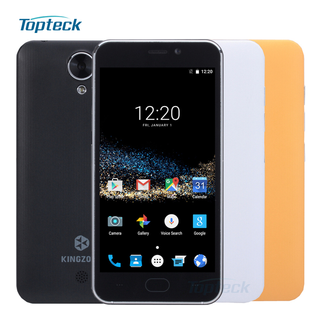 "Original KINGZONE S2 4.5"" IPS Smartphone Android 6.0 MTK6580 Quad Core 1.3GHz Cellphone 8GB ROM 5MP GPS FM 2300MAH Mobile Phone"