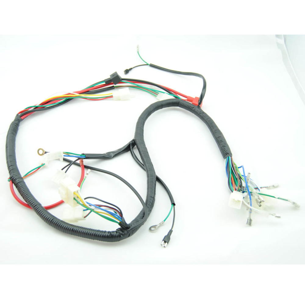 medium resolution of quad wiring harness 200 250cc chinese electric start chinese 110cc wiring harness chinese atv wiring harness