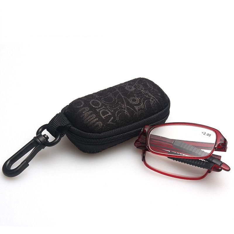 ... Dobrável anti-fadiga alta Limpar Resina lente asférica óculos de leitura  com estojo portátil gafas de lectura occhiali da lettura US  6,99  Peça ... 7810893d3c