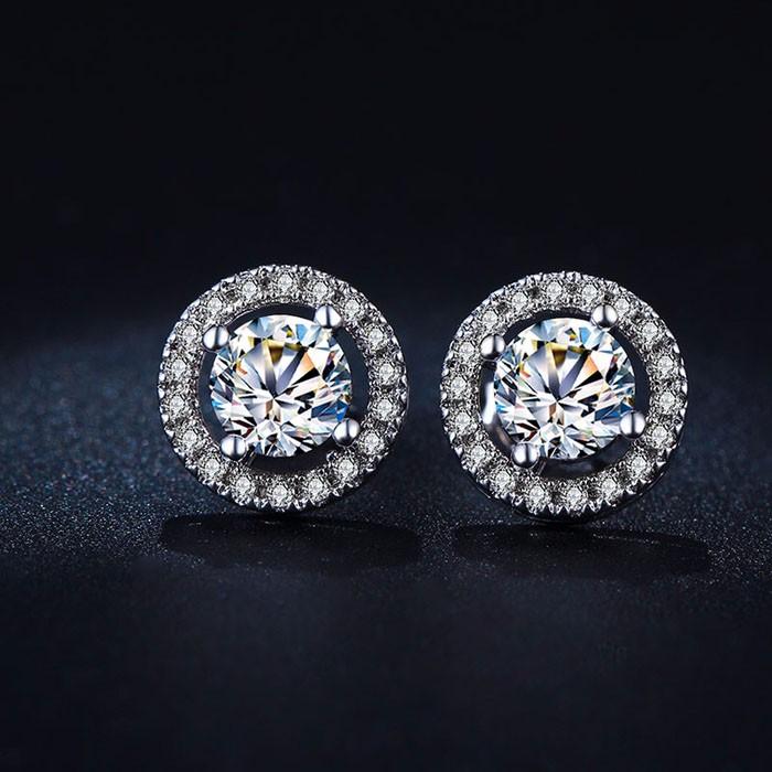 35549c3c31d7 100% 925 de plata esterlina de compromiso marca Juegos de joyería para  novia para las mujeres colgante collar Pendientes de broche boda joyería  Set zs039
