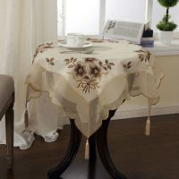 Aliexpress.com : Buy Organza Table cloth 30X30 inches ...